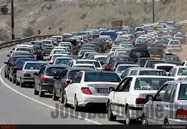 ترافیک در محورهای هراز و کندوان نیمهسنگین است