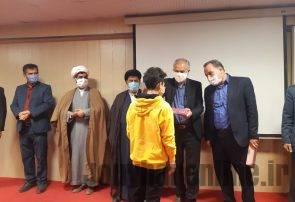 مراسم اهدا تبلت آموزشی به دانش آموزان نیازمند در جویبار