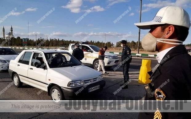 رئیس پلیس راهور مازندران اعلام کرد جریمه ۱۴۵ هزار خودرو در طرح کاهش زنجیره کرونا