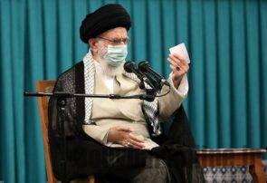 رهبر انقلاب در مراسم تنفیذ: «دولت مردمی» در واقعیت محقق شود/ تشکیل دولت به تاخیر نیفتد