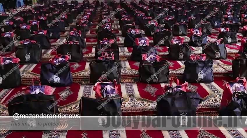 برگزاری طرح اطعام و احسان حسینی در مازندران