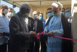 افتتاح ساختمان فاطمیه سید رضا انارمرز جویبار/ وجود یک هزارو ۳۶۱ امامزاده در مازندران